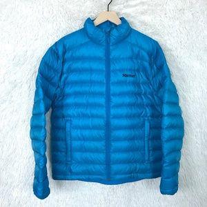 Down Puffer Jacket Blue 700 Fill Marmot